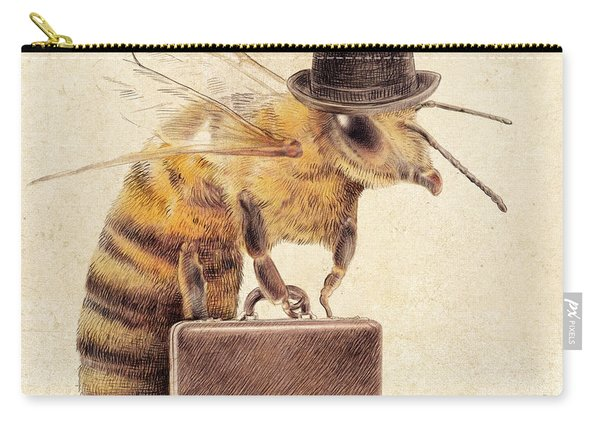 Worker Bee Carry-all Pouch