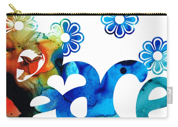 World Peace 3 - Loving Art Carry-all Pouch