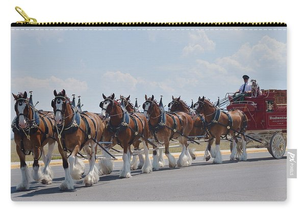 World Renown Clydesdales 2 Carry-all Pouch