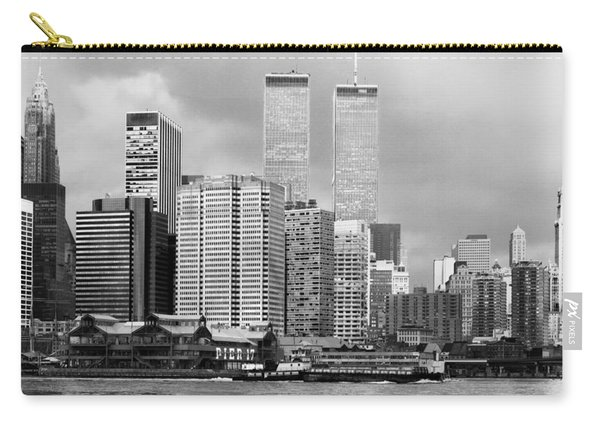 New York City - World Trade Center - Vintage Carry-all Pouch