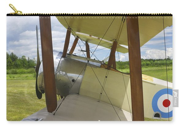 World War One Classic 1916 Sopwith Pup Biplane Carry-all Pouch