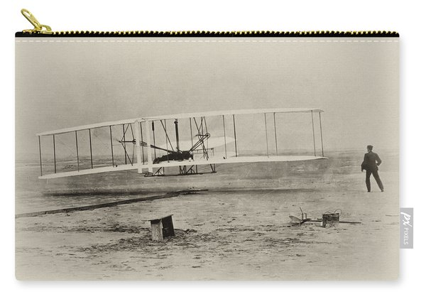 Wright Brothers - First In Flight Carry-all Pouch