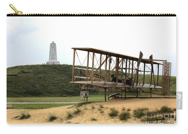 Wright Brothers Memorial At Kitty Hawk Carry-all Pouch