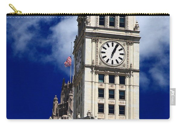 Wrigley Building Clock Tower Carry-all Pouch