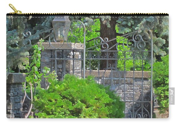 Wrought Iron Gate Carry-all Pouch