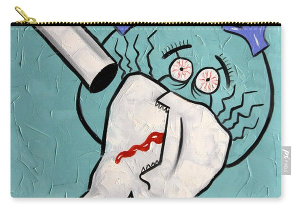 Xrayed Tooth Carry-all Pouch