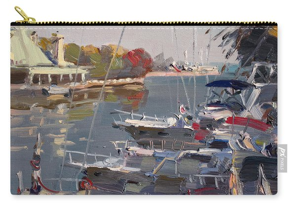 Yachts In Port Credit  Carry-all Pouch