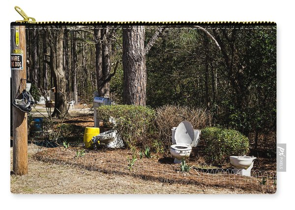 Yard Art Hwy 21 South Carry-all Pouch