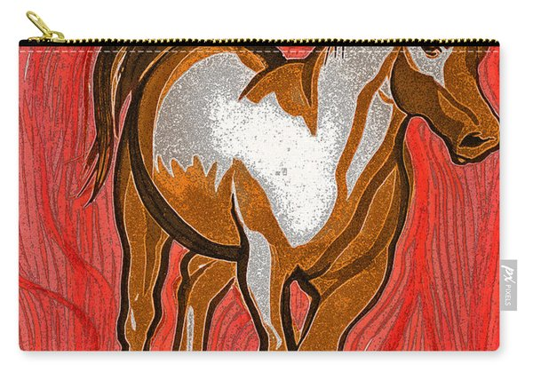 Year Of The Horse By Jrr Carry-all Pouch