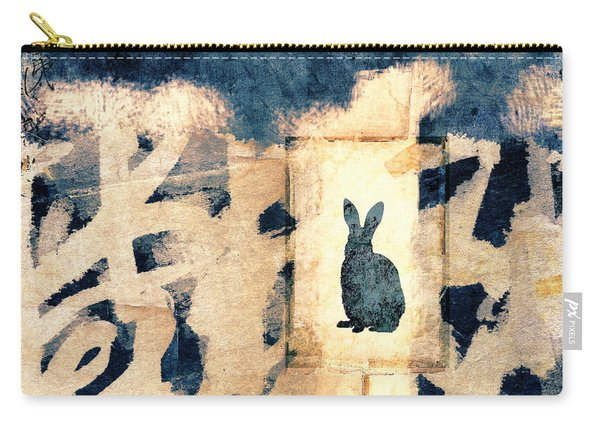 Year Of The Rabbit No. 3 Carry-all Pouch