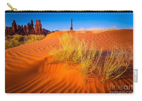 Yei-bi-chai Rocks And Dunes Carry-all Pouch