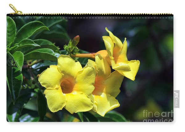 Yellow Allamanda Carry-all Pouch