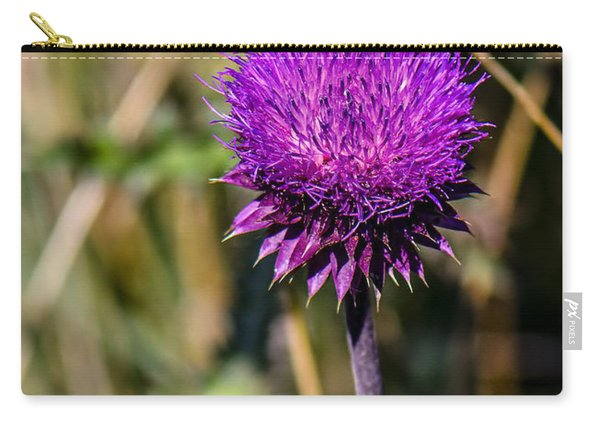 Butterfly And Thistle  Carry-all Pouch