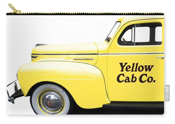 Yellow Cab Square Carry-all Pouch