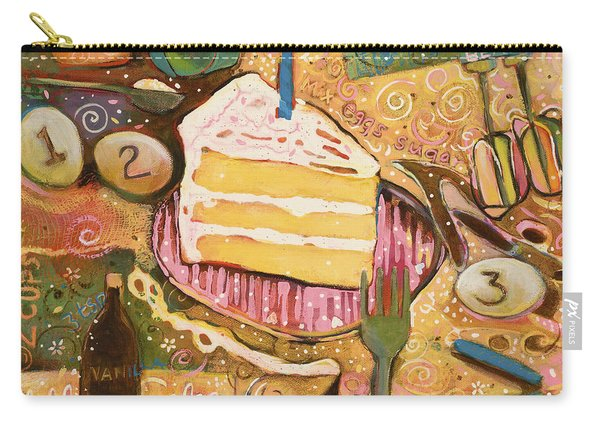 Yellow Cake Recipe Carry-all Pouch