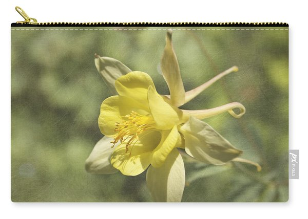 Yellow Columbine Carry-all Pouch