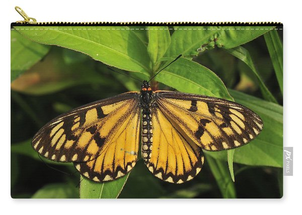 Yellow Coster Butterfly Manas Np India Carry-all Pouch