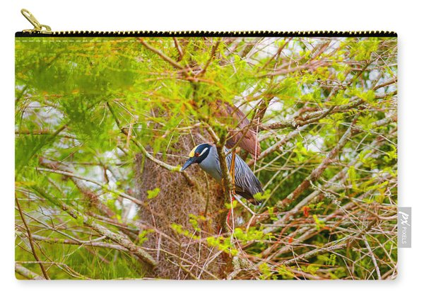 Yellow-crowned Night Heron Nyctanassa Carry-all Pouch