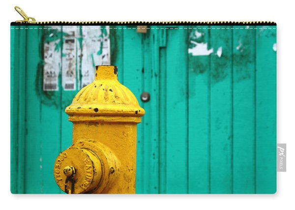 Yellow Fire Hydrant Carry-all Pouch
