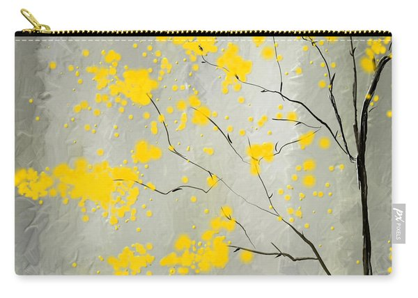 Yellow Foliage Impressionist Carry-all Pouch