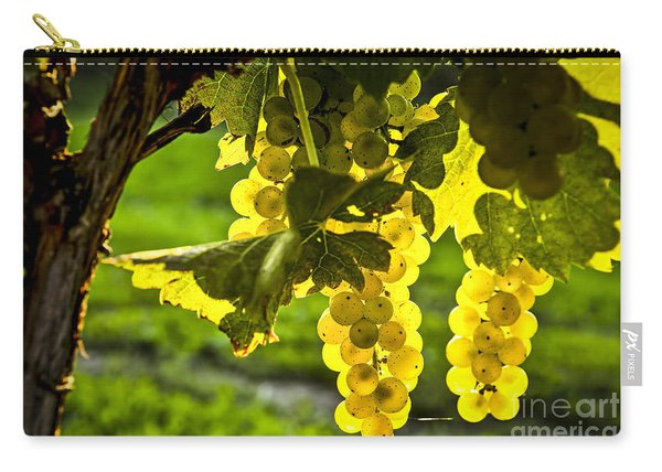 Yellow Grapes In Sunshine Carry-all Pouch