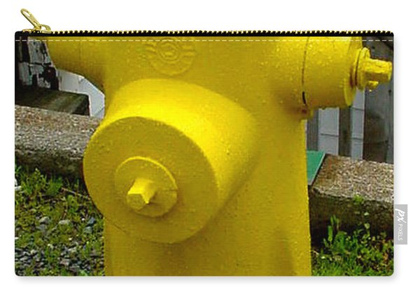 Yellow Hydrant Carry-all Pouch