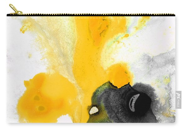 Yellow Orange Abstract Art - The Dreamer - By Sharon Cummings Carry-all Pouch