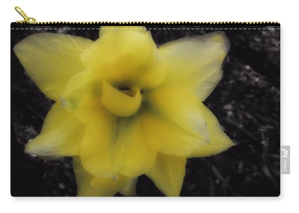 Yellow Parrot Tulip Carry-all Pouch