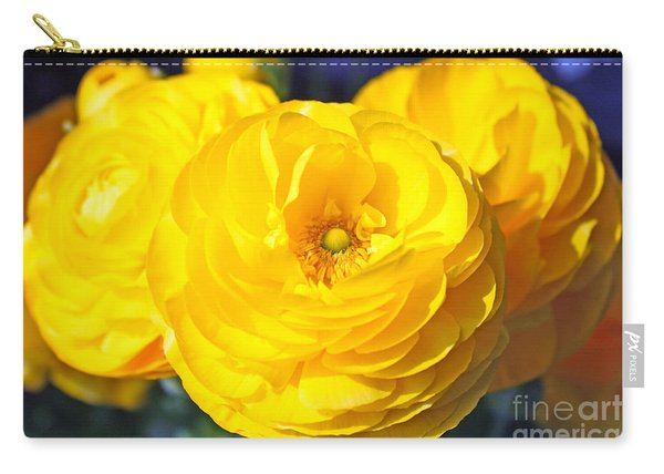 Yellow Peonies Carry-all Pouch