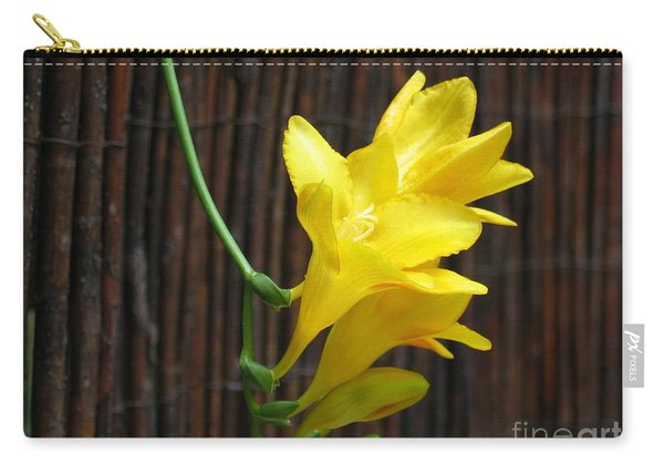 Yellow Petals Carry-all Pouch