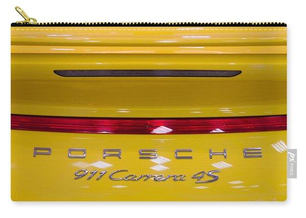 yellow Porsche Carry-all Pouch