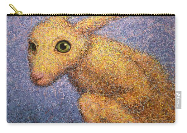 Yellow Rabbit Carry-all Pouch
