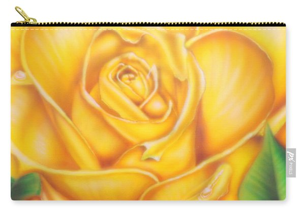 Yellow Rose Of Texas Carry-all Pouch