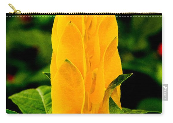 Yellow Shrimp Plant 3 Carry-all Pouch