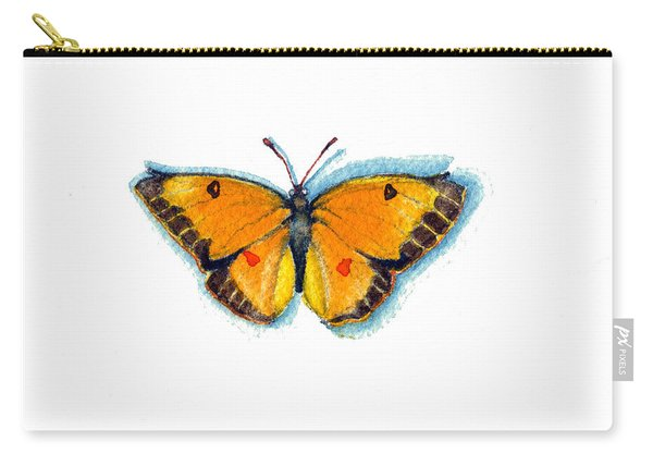 Yellow Sulphur Carry-all Pouch