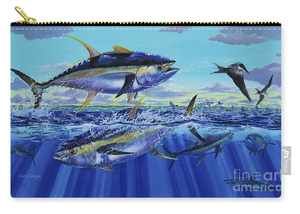Yellowfin Bust Off0083 Carry-all Pouch