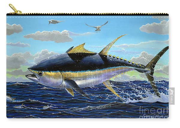 Yellowfin Crash Off0081 Carry-all Pouch