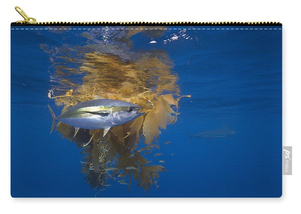 Yellowfin Tuna And Kelp Nine-mile Bank Carry-all Pouch