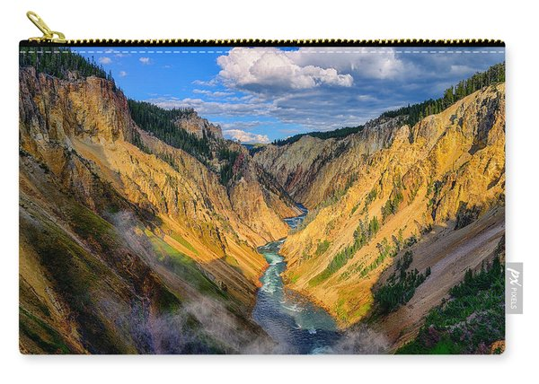 Yellowstone Canyon View Carry-all Pouch