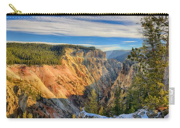 Yellowstone Grand Canyon East View Carry-all Pouch