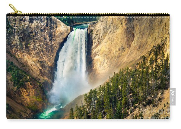 Yellowstone Lower Waterfalls Carry-all Pouch