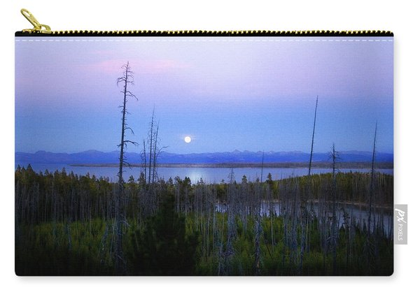 Yellowstone Moon Carry-all Pouch