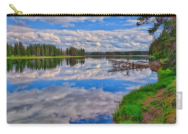 Yellowstone River Reflections Carry-all Pouch