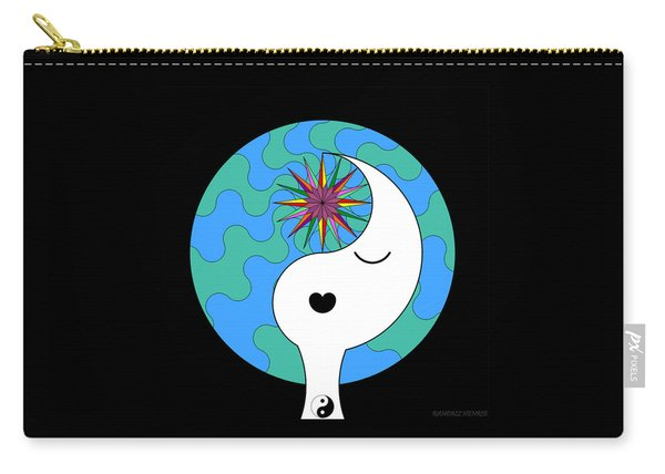 Yin Yang Crown 4 Carry-all Pouch