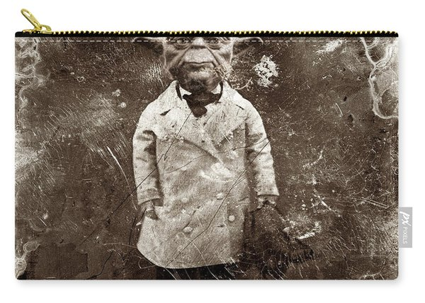 Yoda Star Wars Antique Photo Carry-all Pouch