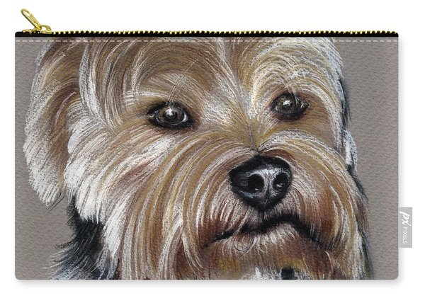 Yorkshire Terrier- Drawing Carry-all Pouch
