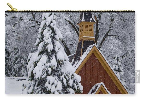 Yosemite Chapel Potrait Carry-all Pouch