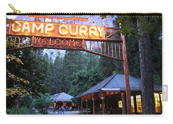 Yosemite Curry Village Carry-all Pouch