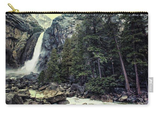 Yosemite Falls In Yosemite Carry-all Pouch
