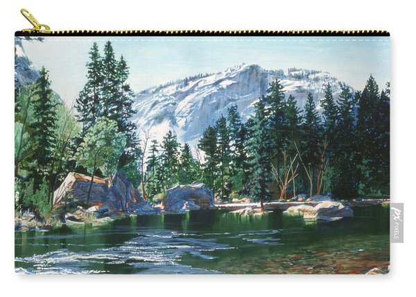 Yosemite Mirror Lake Carry-all Pouch